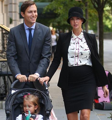 Ivanka Trump har fött en son